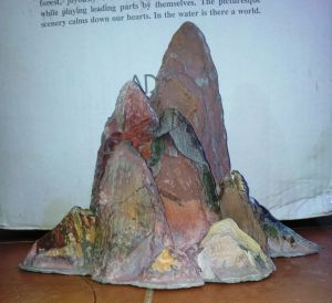 ADA Guilin Stone Brown, Набор из 2 модулей коричневых для 120 см