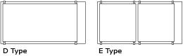 Clear Glass Cover for Cube Garden 60-P(60x30x36) и 60-H(60x30x45) D-Type /Покровное стекло для аквариума 60х30х36(45)