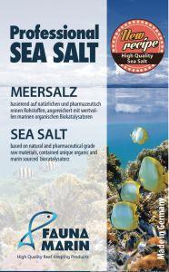 Fauna Marin Professional Sea Salt/ Профессиональная морская соль, 10 кг