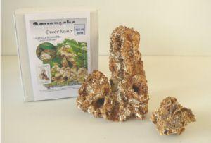 Декор для наноаквариума (10-15 л) с креветками - грот