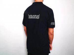 Поло с логотипом AQUARIUM AMANO & ADA