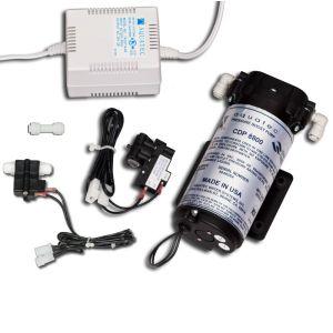 High Flow Booster Pump w/Pressure Switch Operation/ Усиливающая помпа с функцией автоматической регулировки давления