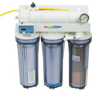 CSPDI Manual Flush 90-GPD RO/DI System система с ручной промывкой мембраны