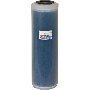 SuperDI Mixed Bed DI Cartridge - Color Indicating / Суперпроизводительный деионизационный картридж смешанных слоев с цветоинд. смолой