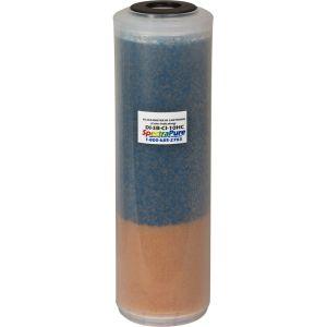 SuperDI SilicaBuster DI Cartridge - Color Indicating/ Суперпроизводительный антисиликатный картридж с цветоинд. смолой