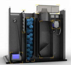 MINI 28P / Мини Аквариум с EcoSystem и скимером (104 л)