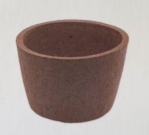 Ceramic Pot Kodaiko/ Керамическая плошка в форме горшка с Amazonia