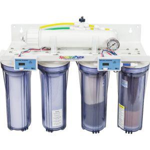 MaxCap® 90-GPD 5-Stage RO/DI System с ручной промывкой мембраны