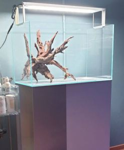 ADA Metal Cabinet 60 Silver / Металлическая тумба для аквариума 60х30х36 см, цвет - серебристый