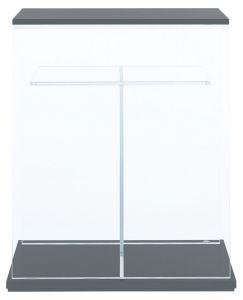 Woodbase Board for Cube Cabinet W60xD30 (Gun Metallic Silver) 2 units/Деревянные панели для стеклянной тумбы 60х30 - две шт.
