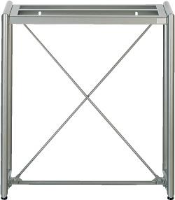 Garden Stand-60 Metallic (60x30cm)/ Стойка металлическая для аквариума 60 см, цвет-серебристый