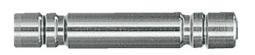 Joint Stick Metal Type (Коннектор металлический для трубок СО2) – 3 штуки в комплекте