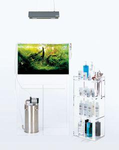 Maintenance Stand Clear - Type B / Подставка-органайзер стеклянная напольная, тип B