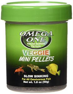 OmegaOne Veggie MINI Pellets 1.8 oz. /Растительные МИНИ гранулы, 50 гр.