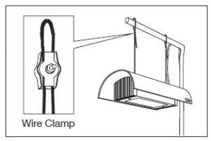 ADA Wire Clamp for Solar I / Зажимы для стальных тросов светильников серии Solar