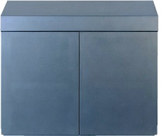 Wood Cabinet 90 Metallic Silver