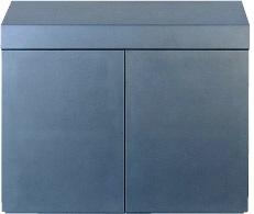 Wood Cabinet 150 Metallic Silver